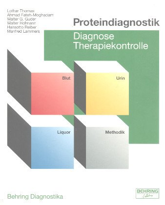 9783452323514: Proteindiagnostik : Diagnose , Therapiekontrolle.
