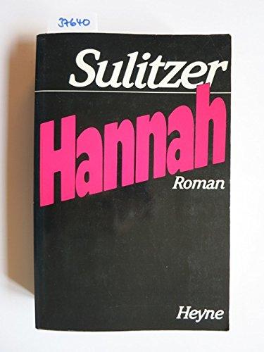 9783453008090: Hannah. Roman.