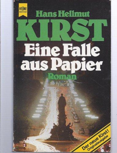 9783453012707: Eine Falle aus Papier