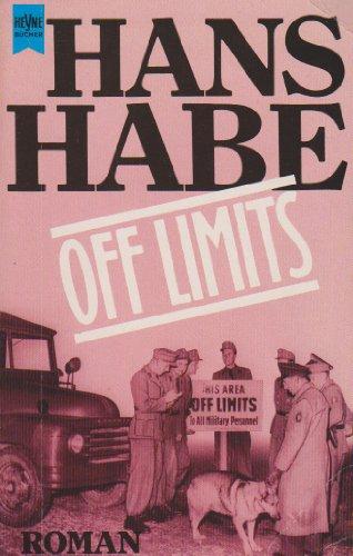 9783453020481: Off Limits