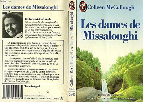 """Die Ladies von Missalonghi. Roman. (Titel Der Englischen Originalausgabe 'The Ladies of Missalonghi"""" (9783453036437) by Colleen McCullough"""
