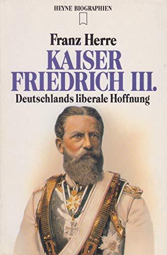 9783453057531: Kaiser Friedrich III.