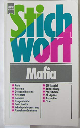 9783453070684: Stichwort Mafia.