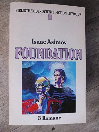 9783453074125: Foundation. 3 Romane