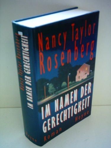 Im Namen der Gerechtigkeit: Rosenberg, Nancy Taylor