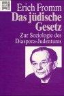 9783453098961: Das jüdische Gesetz. Zur Soziologie des Diaspora- Judentums.