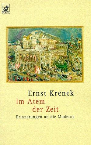 Diana-Taschenbücher, Nr.78, Im Atem der Zeit: Krenek, Ernst