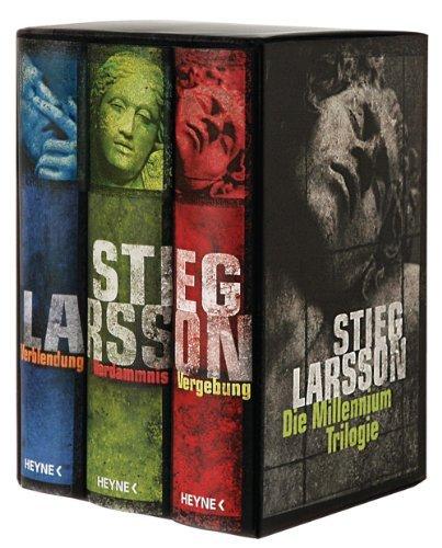 Die Millennium Trilogie: Verblendung - Verdammnis - Vergebung - Larsson, Stieg