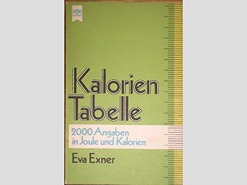 9783453401655: Heyne-Kalorien-Tabelle