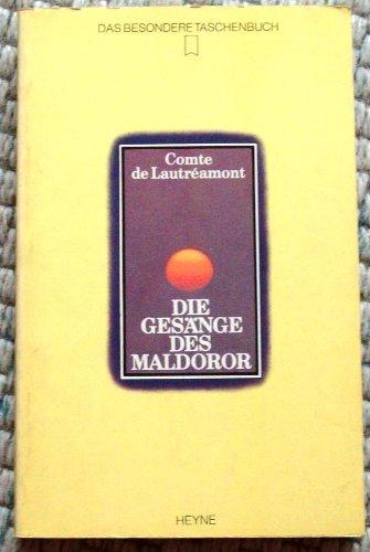 9783453430655: Die Gesänge Des Maldoror