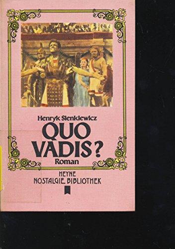 9783453440142: Quo Vadis?