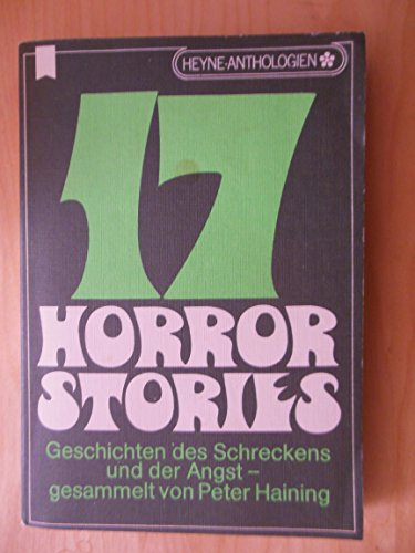 Siebzehn Horror - Stories.