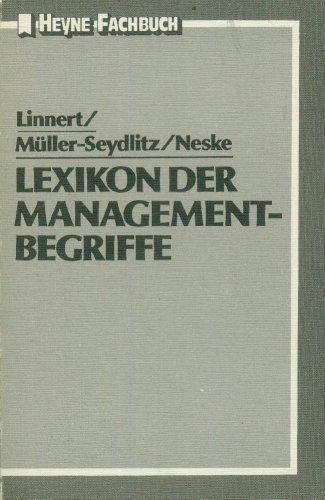 9783453490680: Lexikon Angloamerikanischer und Deutscher Management- Begriffe