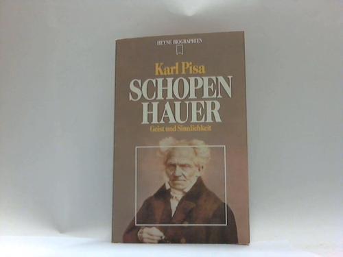 9783453550551: Shopenhauer: Geist und Sinnlichkeit (Heyne Biographen)