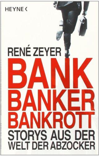 9783453601499: Bank, Banker, Bankrott