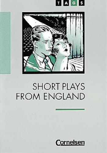 9783454668200: TAGS, Short Plays from England