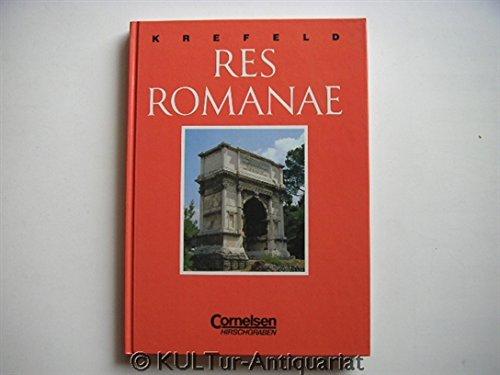 Res Romanae. Ein Begleitbuch für die Lateinische