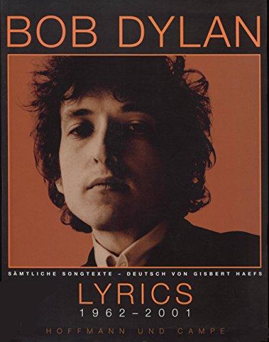9783455015911: Lyrics 1962 - 2001