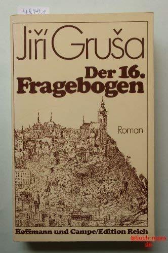 9783455025309: Der 16. Fragebogen: Roman