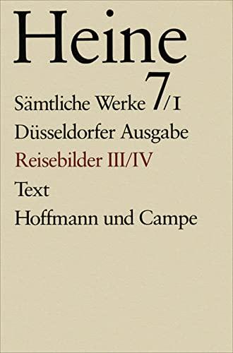 Späte Reisebilder: Heinrich Heine
