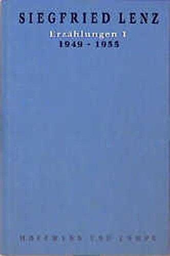 9783455042627: Erzählungen 1. 1949 - 1955: 1949-1955
