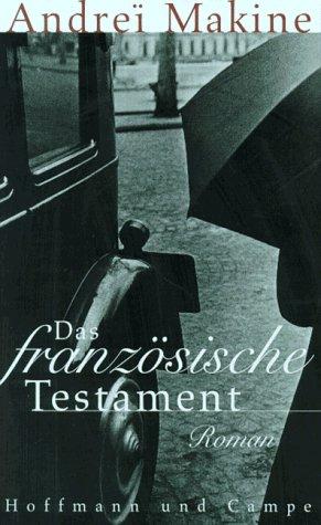 9783455051353: Das franzosische Testament Roman