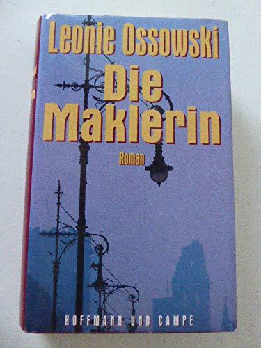 Die Maklerin: Roman (German Edition): Ossowski, Leonie