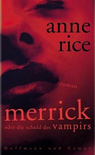 9783455062649: Merrick oder die Schuld des Vampirs