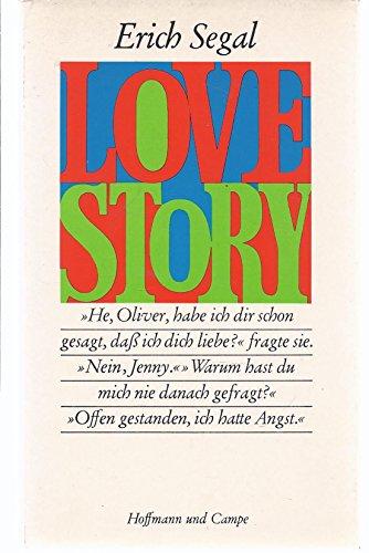 9783455070002 Love Story Abebooks Erich Segal 3455070000