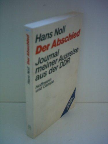 Hans Noll: Der Abschied