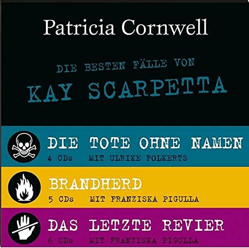 9783455305920: Die besten Fälle von Kay Scarpetta - 15 CDs: Brandherd / Das letzte Revier / Tote ohne Namen