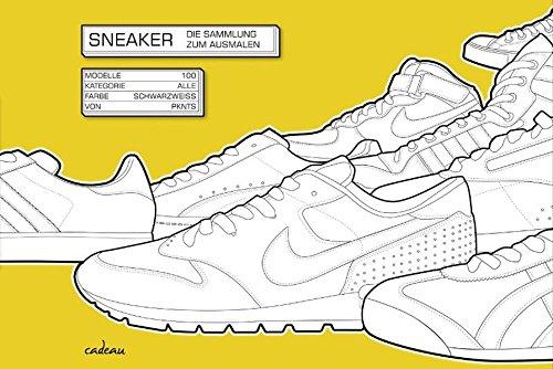 9783455380996: Sneaker: Die Sammlung zum Ausmalen