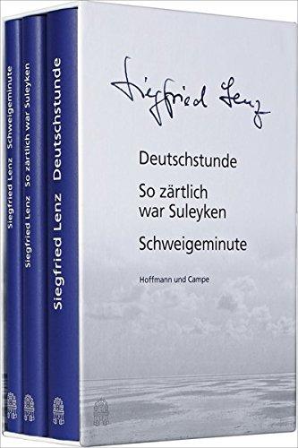 9783455404524: Siegfried Lenz - Seine erfolgreichsten Bücher: Deutschstunde, So zärtlich war Suleyken, Schweigeminute