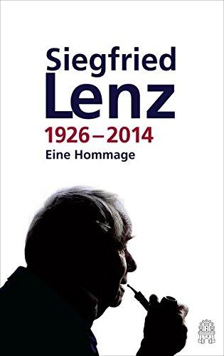 9783455405361: Siegfried Lenz 1926-2014: Eine Hommage