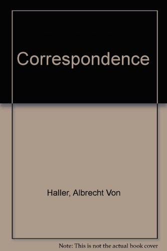 The Correspondence between Albrecht von Haller and Charles Bonnet: Sonntag, Otto
