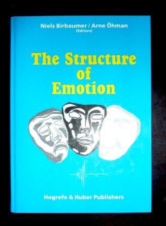 9783456820101: The Structure of Emotion: Psychophysiological, Cognitive, and Clinical Aspects