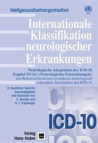 Internationale Klassifikation neurologischer Erkrankungen: C. Kessler