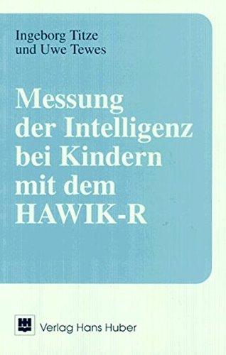 9783456822945: Messung der Intelligenz bei Kindern mit dem HAWIK-R
