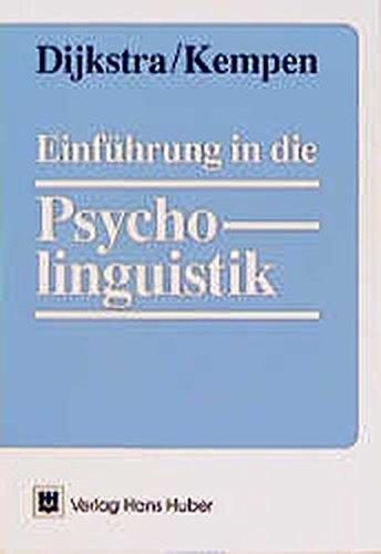 9783456823645: Einführung in die Psycholinguistik.