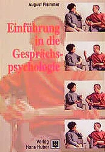 9783456828633: Einführung in die Gesprächspsychologie: Huber Psychologie Lehrbuch