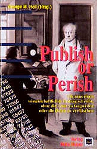 9783456828848: Publish or Perish.