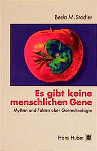9783456829111: Es gibt keine menschlichen Gene
