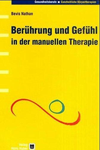 9783456834085: Ber�hrung und Gef�hl in der manuellen Therapie
