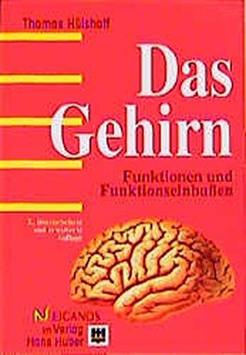 9783456834337: Das Gehirn. Funktionen und Funktionseinbu�en.