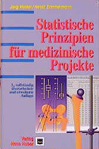 9783456834375: Statistische Prinzipien für medizinische Projekte.