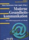 9783456836409: Moderne Gesundheitskommunikation