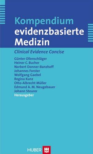 9783456843308: Kompendium evidenzbasierte Medizin = Clinical evidence concise