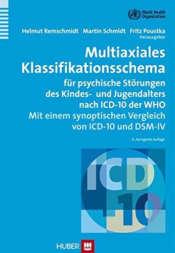 Multiaxiales Klassifikationsschema für psychiatrische Störungen: Helmut Remschmidt