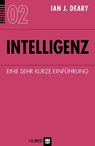 9783456852973: Intelligenz: Eine sehr kurze Einführung
