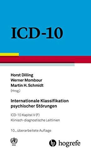 9783456855608: Internationale Klassifikation psychischer Störungen: ICD-10 Kapitel V (F) - Klinisch-diagnostische Leitlinien